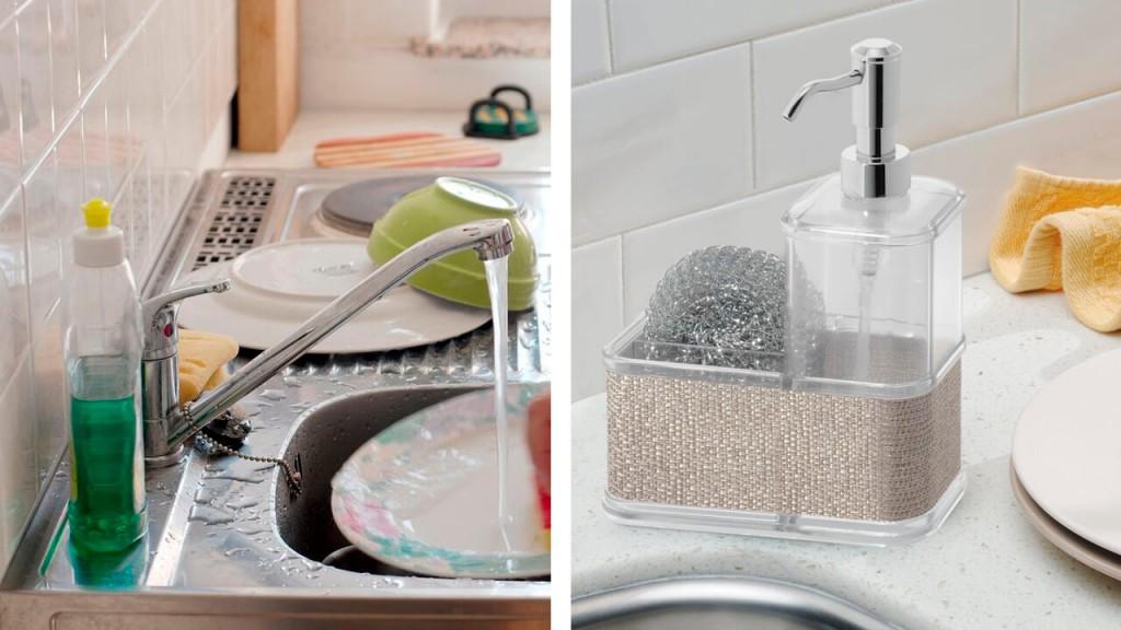 Дозаторы средства для мытья посуды dishwashing dispenser