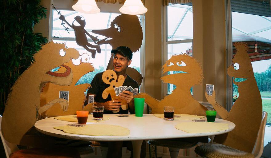 Cardboard-Cutouts-Into-Fun-Sesame-Street-Silhouettes