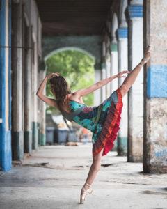 Омар Роблес - танцоры балета на улицах Кубы