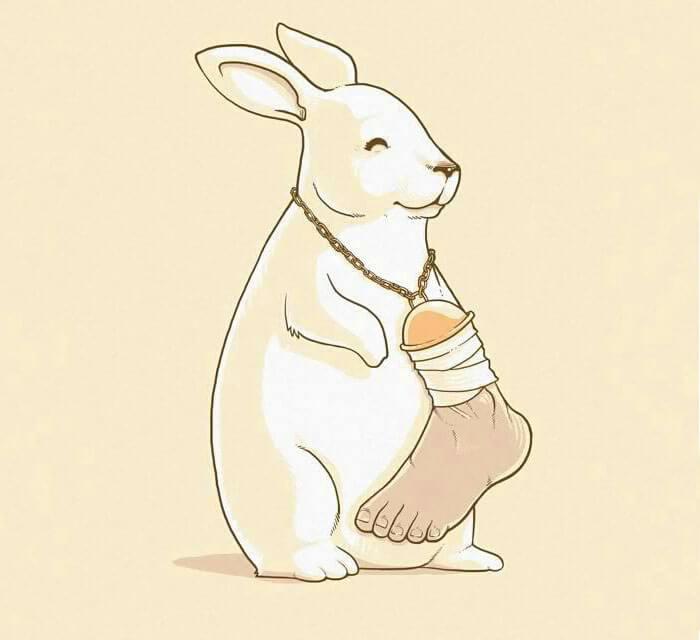 Шокирующие иллюстрации о том, как животные поменялись местами с людьми