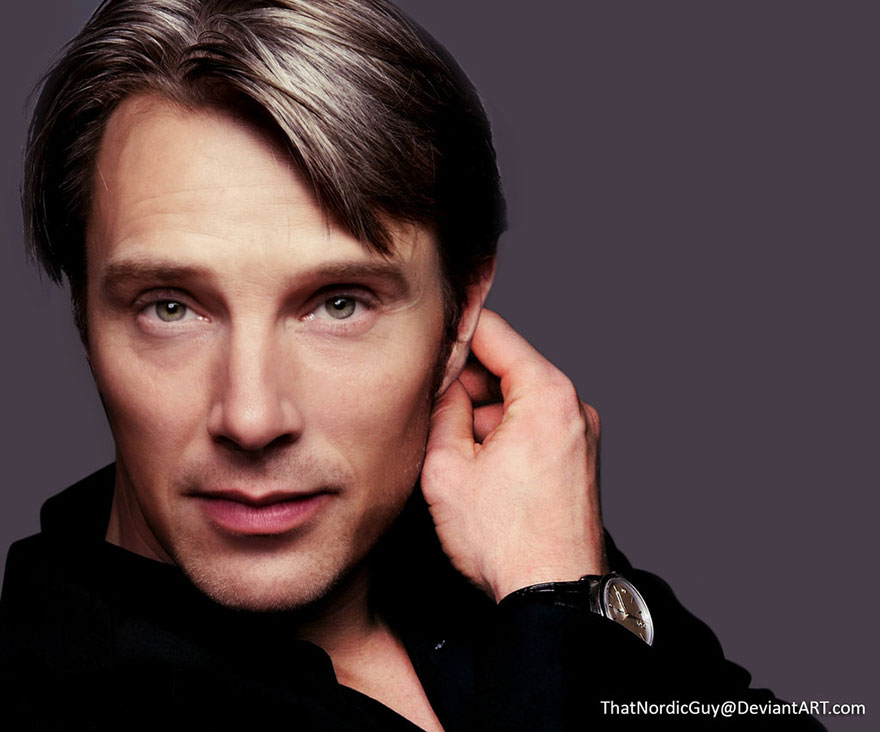 Benedict Cumberbatch and Mads Mikkelsen