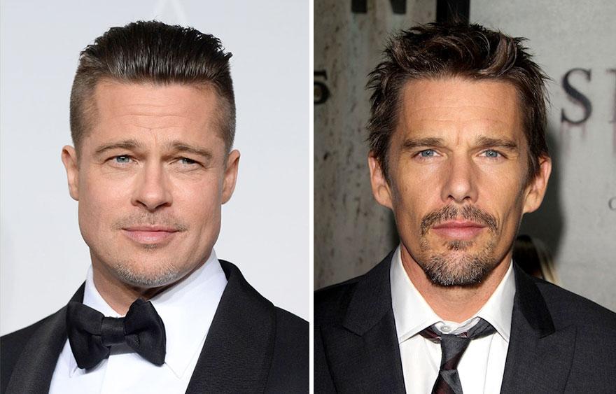 Brad Pitt and Ethan Hawke
