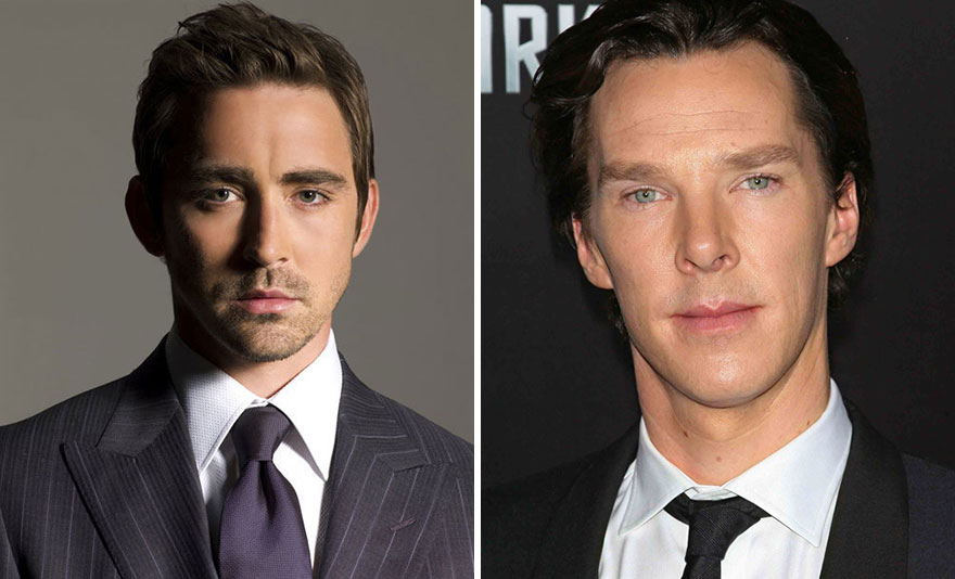Lee Pace and Benedict Cumberbatch