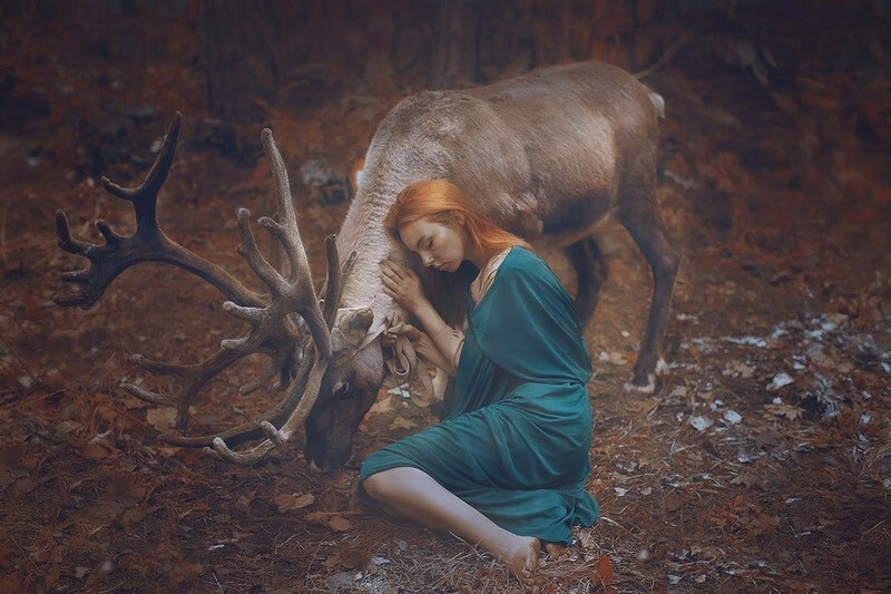 Сказочные работы фотографа Катерина Плотникова
