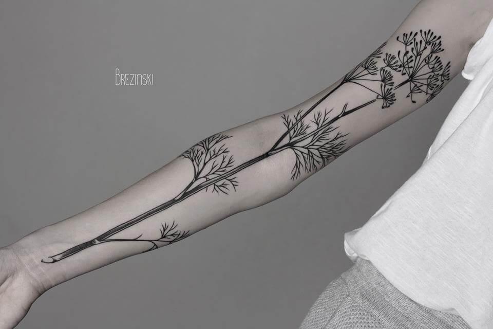 Сюрреалистические работы тату-мастера Илья Брезинский