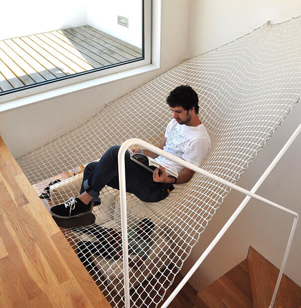 Hammock Over the Stairs 1