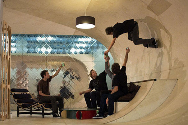 Skate-park Room
