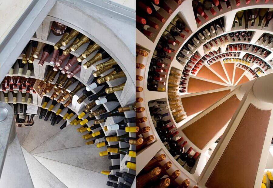 Spiral Wine Storage 2