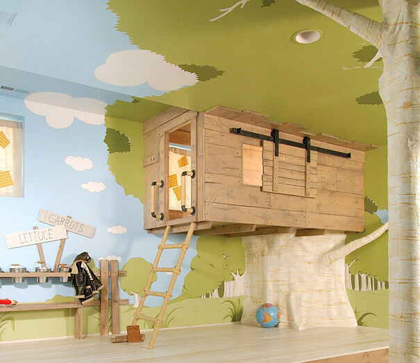Treehouse Room For Kids