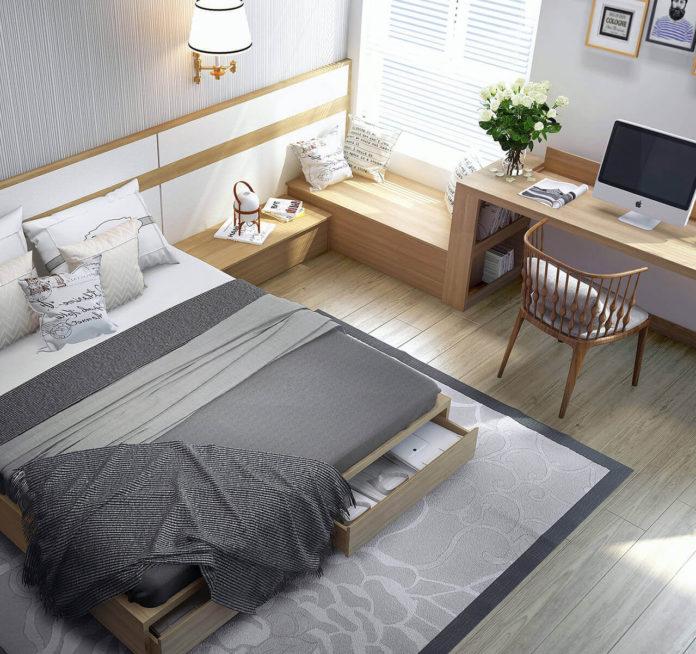 10 креативных способов сделать свою маленькую спальню комфортной и организованной - идеи для маленькой спальной комнаты