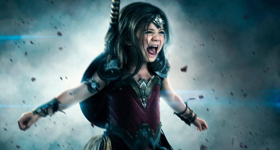 Фотограф потратил 1,500$ чтобы сделать свою 3-летнюю дочь Чудо-женщиной