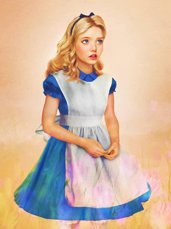 Алиса (Алиса в стране чудес)