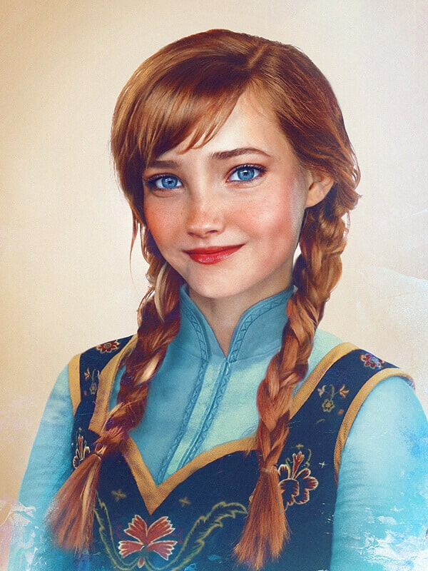 Принцесса Анна (Холодное сердце)