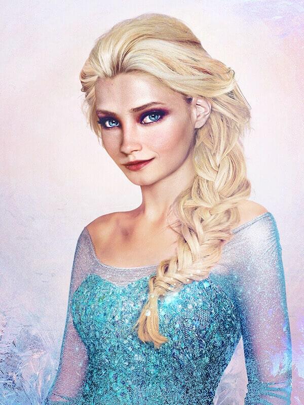Королева Эльза (Холодное сердце)
