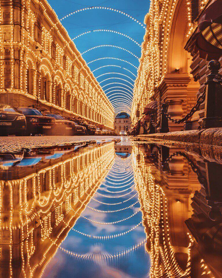 Фотограф Кристина Макеева, снимает сказочную, зимнюю Москву