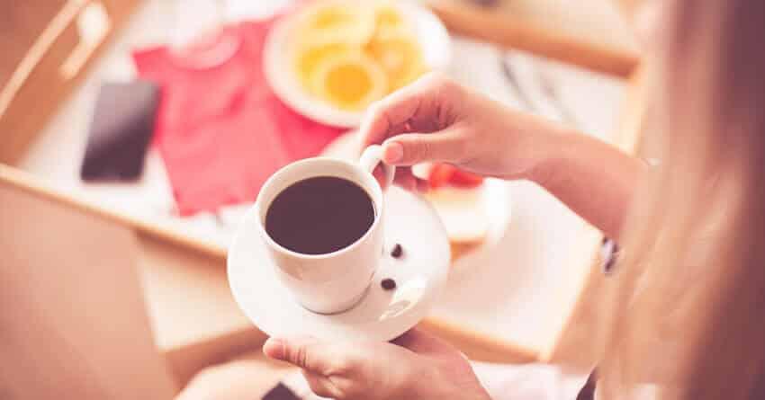 Откажитесь от употребления кофе