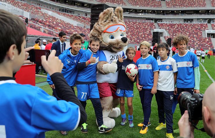 Иностранные болельщики FIFA 2018 Russia