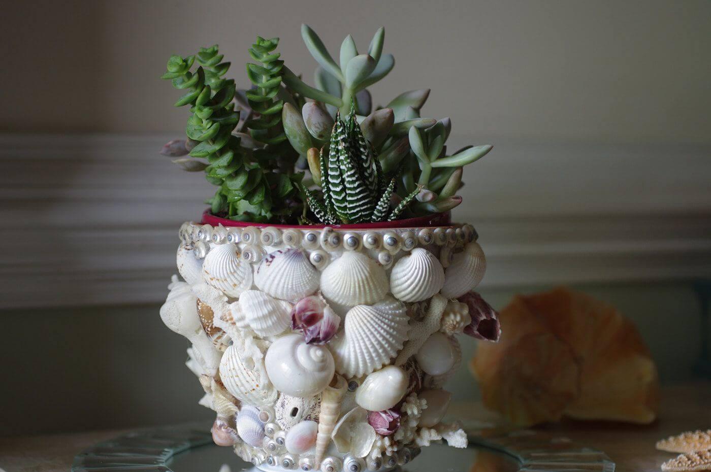 декор цветочного горшка своими руками фото покупают этих