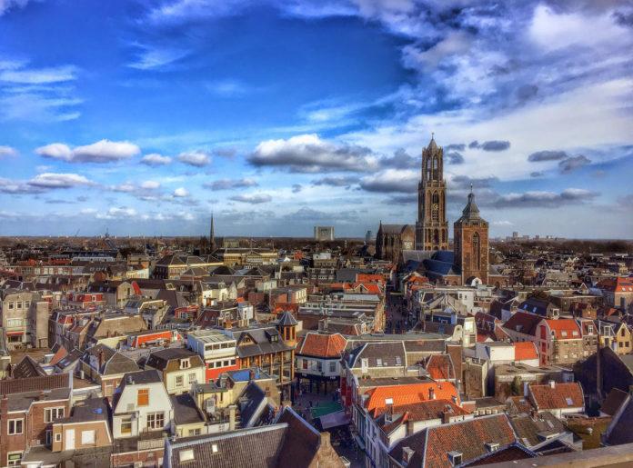 Соборная площадь в Утрехте, Нидерланды